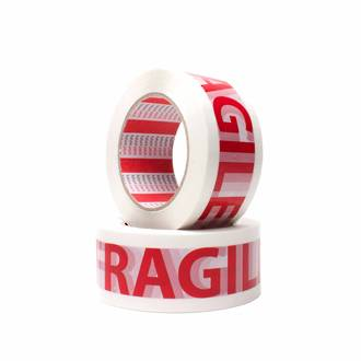 "FPA10  Printed ""Fragile"" Acrylic Packaging Tape"